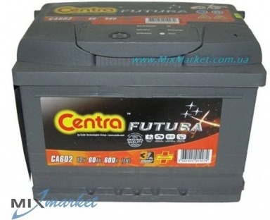 Аккумулятор Centra Futura 60 Ah 600A (CA602)