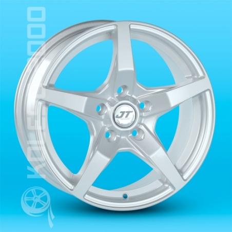 Литые диски JT 1236 R14 W6.0 PCD4x108 ET38 Sil
