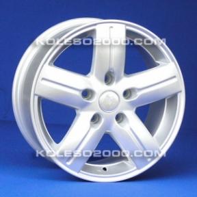 Литые диски Renault Replica JT-1298 R16 W7.0 PCD5x118 ET45 SiL