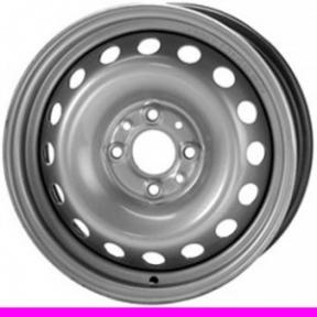 Стальные диски Daewoo КрКЗ R13 W5.0 PCD4x100 ET49 Silver