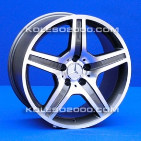 Литые диски Mercedes Replica A-049 R18 W9.5 PCD5x112 ET35 GM