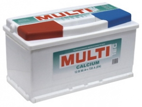 Аккумулятор MULTI Tec Mega Calcium 90 а/ч (6СТ-90 Аз MULTI)