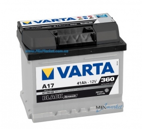 Аккумулятор Varta Black dynamic 41Ah 360A (541 400 036) A17