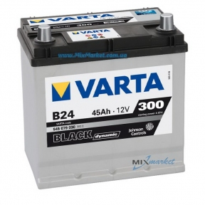 Аккумулятор Varta Black dynamic 45Ah 300A (545 079 030) B24