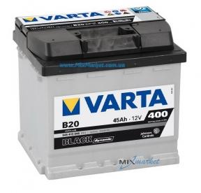 Аккумулятор Varta Black dynamic 45Ah 400A (545 413 040) B20