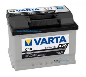 Аккумулятор Varta Black dynamic 53Ah 470A (553 400 047) C10