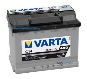 Аккумулятор Varta Black dynamic 56Ah 480A (556 400 048) C14