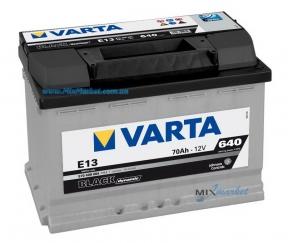Аккумулятор Varta Black dynamic 70Ah 640A (570 409 064) E13