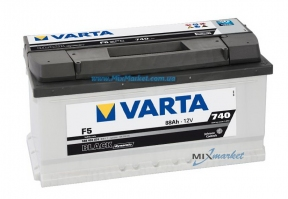 Аккумулятор Varta Black dynamic 88Ah 740A (588 403 074) F5