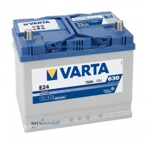 Аккумулятор Varta Blue dynamic 70Ah 630A (570 413 063) E24