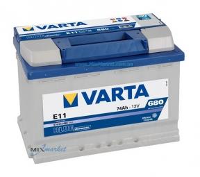 Аккумулятор Varta Blue dynamic 74Ah 680A (574 012 068) E11