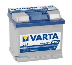 Аккумулятор Varta Blue dynamic 52Ah 470A (552 400 047) C22