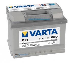 Аккумулятор Varta Silver dynamic 61Ah 600A (561 400 060) D21