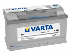 Аккумулятор Varta Silver dynamic 100Ah 830A (600 402 083) H3
