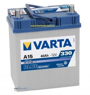 Аккумулятор Varta Blue dynamic 40Ah 330A (540 127 033) A15