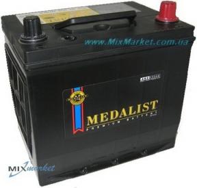 Аккумулятор Medalist 6ст-65Ah 550A (75D23R)