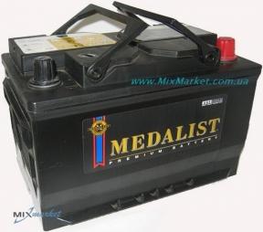 Аккумулятор Medalist 6ст-74Ah 650A (916 50)