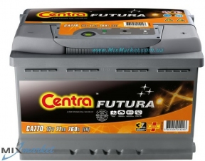 Аккумулятор Centra Futura 72Ah 720A (CA722)