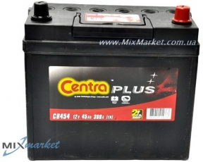 Аккумулятор Centra Plus J 45Ah 300A CP44 (CB454)
