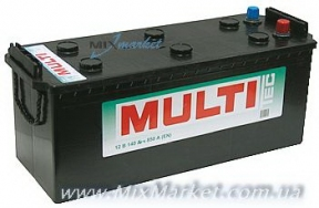 Аккумулятор MULTI Tec Mega Calcium 140 а/ч (6СТ-140 Аз MULTI)