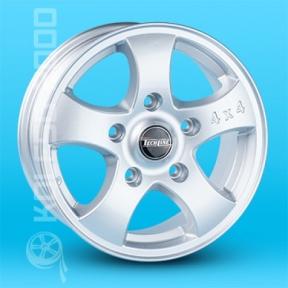 Литые диски Techline TL-541 R15 W6.5 PCD5x139.7 ET40 S