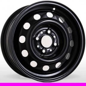 Стальные диски 638 R15 W6.0 PCD4x108 ET18 Black