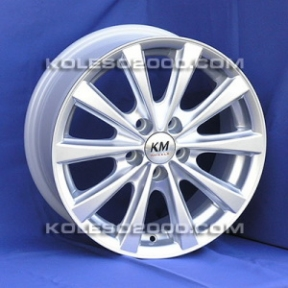 Литые диски Kormetal KM 775 R15 W6.5 PCD5x112 ET37 S