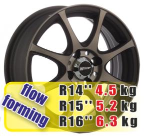 Кованые диски Yokatta Rays YA 1007 R15 W6.0 PCD4x114.3 ET35 EM-P-ZY/M