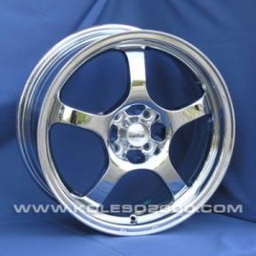 Литые диски FJB F-305 R13 W5.5 PCD4x100/114.3 ET35 Chrome