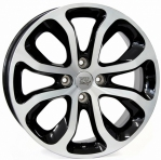 Литые диски WSP Italy Citroen Nimes‎ W3403 R16 W6.0 PCD4x108 ET23 Glossy Black Polished