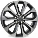Литые диски WSP Italy Nissan Vulture‎ W1855 R17 W6.5 PCD5x114.3 ET40 Anthracite Polished