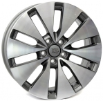 Литые диски WSP Italy Volkswagen Ermes W461 R17 W7.0 PCD5x112 ET54 Anthracite Polished