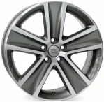 Литые диски WSP Italy Volkswagen Cross Polo W463 R16 W7.0 PCD5x100 ET46 Anthracite Polished