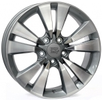 Литые диски WSP Italy Honda Bolzano W2409 R17 W7.5 PCD5x114.3 ET55 Anthracite Polished