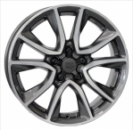 Литые диски WSP Italy Honda Gerda CRZ W2411 R17 W6.5 PCD5x114.3 ET45 Anthracite Polished