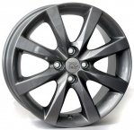 Литые диски WSP Italy Mazda Magdeburg W1903 R16 W6.5 PCD4x100 ET50 Anthracite