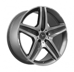 Литые диски Mercedes Replica MR968 R21 W10.0 PCD5x112 ET46 GMF