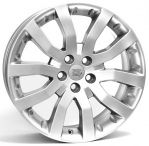 Литые диски WSP Italy Land Rover Kingston W2352 R20 W9.5 PCD5x120 ET53 Hyper Silver