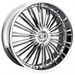 Литые диски MKW MK-F34 R20 W9.0 PCD5x120/130 ET45 (78.1) chrome