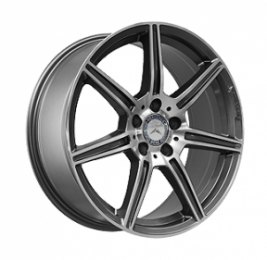Литые диски Mercedes Replica MR966 R18 W9.5 PCD5x112 ET40 GMF