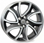 Литые диски WSP Italy Citroen Yonne W3404 R18 W7.0 PCD5x114.3 ET38 Anthracite Polished