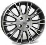 Литые диски WSP Italy Fiat Valencia W150 R15 W6.0 PCD4x100 ET45 Anthracite Polished