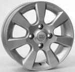 Литые диски WSP Italy Nissan Tiida W1852 R15 W5.5 PCD4x114.3 ET40 Silver
