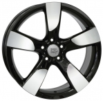 Литые диски WSP Italy Audi Vittoria W568 R19 W8.5 PCD5x112 ET43 Glossy Black Polished