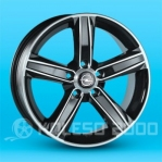 Литые диски Opel Astra Replica T-628 R16 W6.5 PCD5x105 ET39 BD