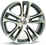 Литые диски WSP Italy Volvo C30 Night W1255 R18 W7.5 PCD5x108 ET53 Anthracite Polished