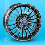 Литые диски Ford Replica T-537 R15 W6.0 PCD5x108 ET45 BD