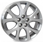 Литые диски WSP Italy Mazda Hella W1904 R17 W7.0 PCD5x114.3 ET60 Silver