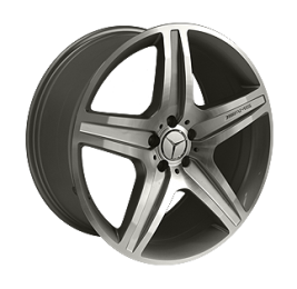 Литые диски Mercedes Replica MR968 R21 W10.0 PCD5x112 ET46 SF