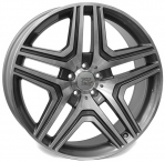 Литые диски WSP Italy Mercedes AMG Nero W766 R19 W8.5 PCD5x112 ET60 Anthracite Polished